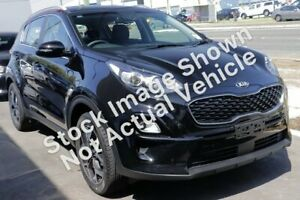 2019 Kia Sportage QL MY20 SX AWD Black 8 Speed Sports Automatic Wagon Lilydale Yarra Ranges Preview