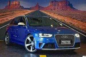 2013 Audi RS4 Blue Sports Automatic Dual Clutch Wagon Coolangatta Gold Coast South Preview