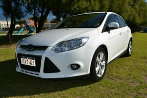 2012 Ford Focus LW MK2 Trend White 6 Speed Automatic Hatchback Rockingham Rockingham Area Preview