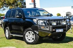2009 Toyota Landcruiser Prado KDJ150R Kakadu Black 5 Speed Sports Automatic Wagon Wangara Wanneroo Area Preview