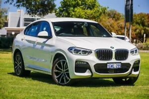 2019 BMW X4 G02 xDrive30i Coupe Steptronic M Sport White 8 Speed Sports Automatic Wagon