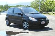2007 Hyundai Getz TB MY07 S Black 5 Speed Manual Hatchback Portsmith Cairns City Preview