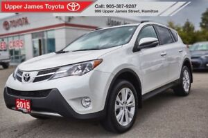 2015 Toyota RAV4 Limited - Technology Package.