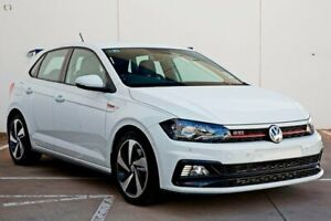 2019 Volkswagen Polo AW MY19 GTI DSG White 6 Speed Sports Automatic Dual Clutch Hatchback Belconnen Belconnen Area Preview