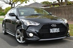 2013 Hyundai Veloster FS2 SR Coupe Turbo Black 6 Speed Manual Hatchback St Marys Mitcham Area Preview