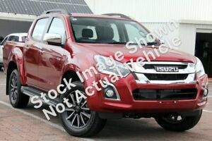 2019 Isuzu D-MAX MY19 LS-T Crew Cab Magnetic Red 6 Speed Sports Automatic Utility Rockingham Rockingham Area Preview