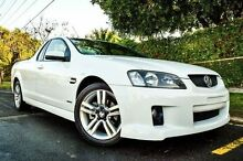 2010 Holden Ute VE MY10 SV6 White 6 Speed Sports Automatic Utility Medindie Walkerville Area Preview