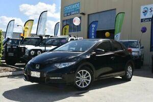 2012 Honda Civic FK VTi-S Black 5 Speed Automatic Hatchback East Brisbane Brisbane South East Preview