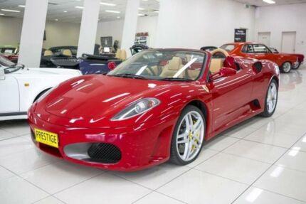 2008 Ferrari F430 Spider Corra Rossa 6 Speed Formula One Convertible