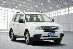 2010 Subaru Forester S3 MY10 X AWD Pearl White 4 Speed Sports Automatic Wagon Victoria Park Victoria Park Area Preview