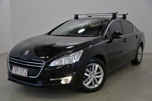 2012 Peugeot 508 Active Black 6 Speed Sports Automatic Sedan Mansfield Brisbane South East Preview