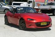 2015 Mazda MX-5 ND GT SKYACTIV-Drive Red 6 Speed Sports Automatic Roadster Southport Gold Coast City Preview