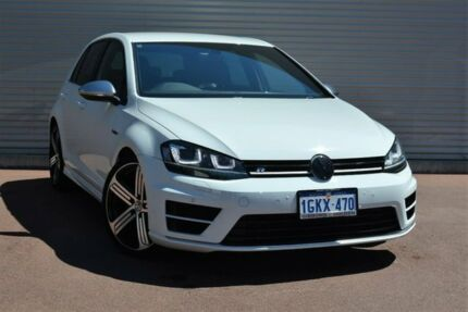 2014 Volkswagen Golf VII MY15 R DSG 4MOTION White 6 Speed Sports Automatic Dual Clutch Hatchback Gosnells Gosnells Area Preview