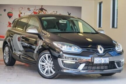 2014 Renault Megane III B95 Phase 2 GT-Line EDC Black 6 Speed Sports Automatic Dual Clutch Hatchback Willagee Melville Area Preview