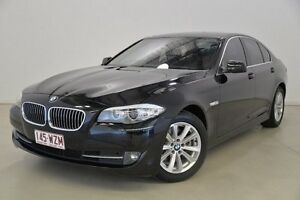 2011 BMW 520I F10 MY0911 Steptronic Black 8 Speed Sports Automatic Sedan Mansfield Brisbane South East Preview