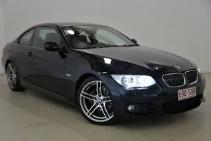 2012 BMW 320D E92 MY0312 Steptronic Black 6 Speed Sports Automatic Coupe Mansfield Brisbane South East Preview