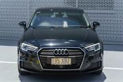 2016 Audi A3 8V MY17 Sportback S tronic Brilliant Black 7 Speed Sports Automatic Dual Clutch Slacks Creek Logan Area Preview