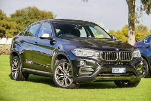 2015 BMW X6 F16 xDrive40d Coupe Steptronic Black Sapphire 8 Speed Sports Automatic Wagon