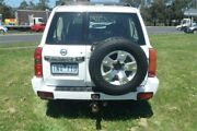 2004 Nissan Patrol GU IV ST (4x4) White 5 Speed Manual Wagon Bayswater North Maroondah Area Preview