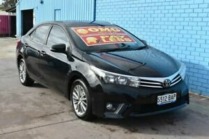 2014 Toyota Corolla ZRE172R SX Black 7 Speed CVT Auto Sequential Sedan Enfield Port Adelaide Area Preview