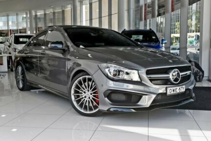 2016 Mercedes-Benz CLA45 C117 806MY AMG SPEEDSHIFT DCT 4MATIC Grey 7 Speed Chatswood Willoughby Area Preview