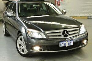 2008 Mercedes-Benz C280 W204 Avantgarde Tenorite Grey 7 Speed Sports Automatic Sedan