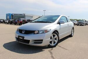 2010 Honda Civic Cpe LX *LOW KMS, GREAT PRICE*