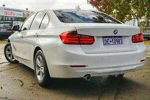 2013 BMW 318D F30 MY1112 White 8 Speed Automatic Sedan Glendalough Stirling Area Preview