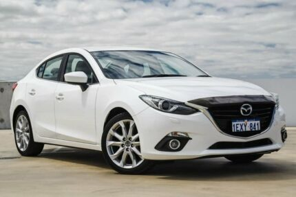 2015 Mazda 3 BM5236 SP25 SKYACTIV-MT GT White 6 Speed Manual Sedan Osborne Park Stirling Area Preview