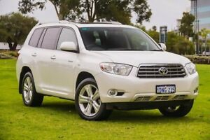 2010 Toyota Kluger GSU40R Grande 2WD White 5 Speed Sports Automatic Wagon Burswood Victoria Park Area Preview