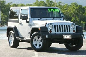 2011 Jeep Wrangler JK MY2010 Sport Silver 6 Speed Manual Softtop Bungalow Cairns City Preview
