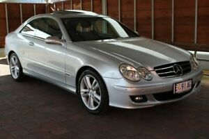 2005 Mercedes-Benz CLK-Class C209 CLK350 Avantgarde Silver Sports Automatic Glebe Hobart City Preview