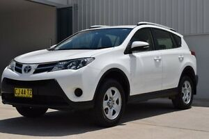 2013 Toyota RAV4 ZSA42R GX White 7 Speed Automatic Wagon Rutherford Maitland Area Preview