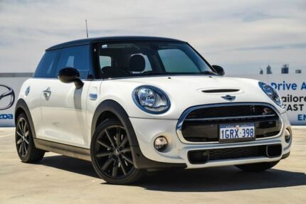 2015 Mini Hatch F56 Cooper S White 6 Speed Automatic Hatchback Osborne Park Stirling Area Preview