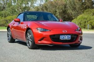 2016 Mazda MX-5 ND GT SKYACTIV-Drive Red 6 Speed Sports Automatic Roadster
