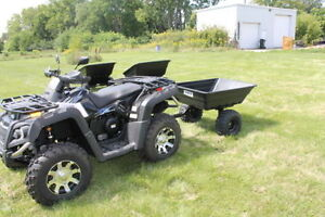 ATV/LAWN TRAILERS - HEAVY DUTY - WITH TILT