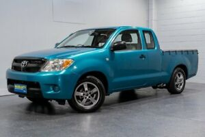 2007 Toyota Hilux GGN15R 06 Upgrade SR Green 5 Speed Automatic X Cab Pickup Woodridge Logan Area Preview
