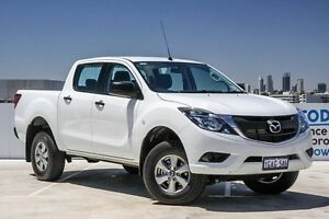 2016 Mazda BT-50 UR0YF1 XT Cool White 6 Speed Manual Cab Chassis Osborne Park Stirling Area Preview