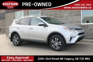 2016 Toyota RAV4 LX AWD HEATED SEATS CAMERA 6 SPEAKERS ROOF RAIL