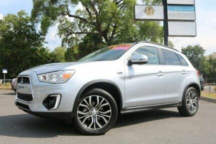 2016 Mitsubishi ASX XB MY15.5 LS 2WD Silver 6 Speed Constant Variable Wagon Earlville Cairns City Preview