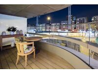 New 2 double bedroom,2 bathroom apartment with balcony,city skyline views,pool,gym & cinema room