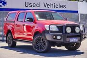 2012 Toyota Hilux GGN25R MY12 SR5 Double Cab Red 5 Speed Automatic Utility Maddington Gosnells Area Preview