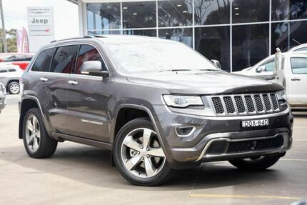 2015 Jeep Grand Cherokee WK MY15 Overland Granite Crystal 8 Speed Sports Automatic Wagon