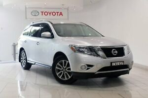 2013 Nissan Pathfinder R52 MY14 ST X-tronic 4WD Silver 1 Speed Constant Variable Wagon Waterloo Inner Sydney Preview
