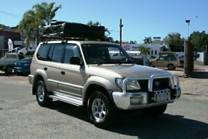 2000 Toyota Landcruiser Prado VZJ95R GXL Gold 4 Speed Automatic Wagon Townsville Townsville City Preview