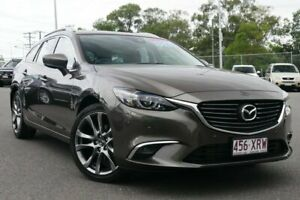 2017 Mazda 6 GL1021 GT SKYACTIV-Drive Bronze 6 Speed Sports Automatic Wagon Hillcrest Logan Area Preview