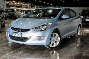 2011 Hyundai Elantra MD Premium Blue 6 Speed Sports Automatic Sedan Wendouree Ballarat City Preview