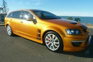 2010 Holden Special Vehicles ClubSport E Series 2 R8 Tourer Orange 6 Speed Sports Automatic Wagon South Gladstone Gladstone City Preview