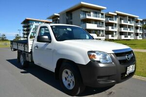2007 Mazda BT-50 UNY0W3 DX 4x2 White 5 Speed Manual Cab Chassis Somerton Park Holdfast Bay Preview