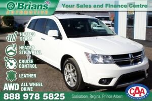 2014 Dodge Journey R/T w/AWD, Heated Steering Wheel, Leather